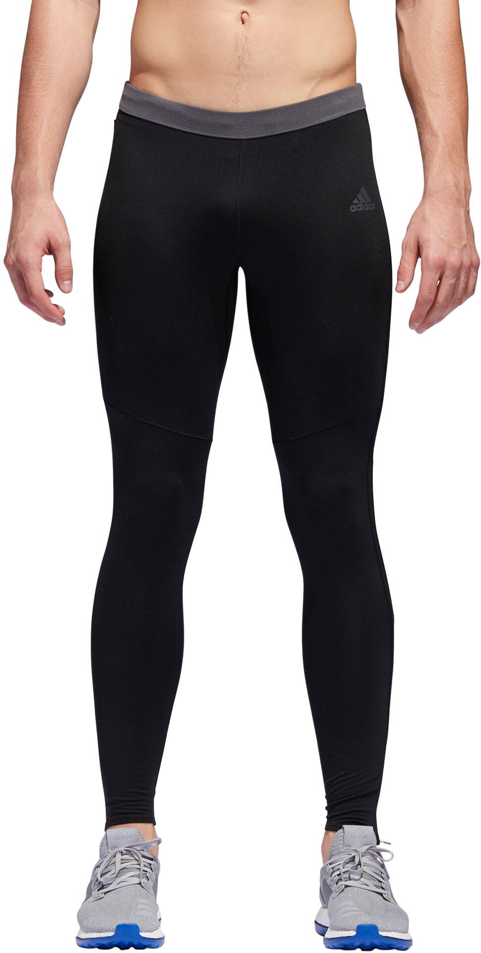 adidas Response Climawarm - Pantalones largos running Hombre - negro ... 6328921c21ad